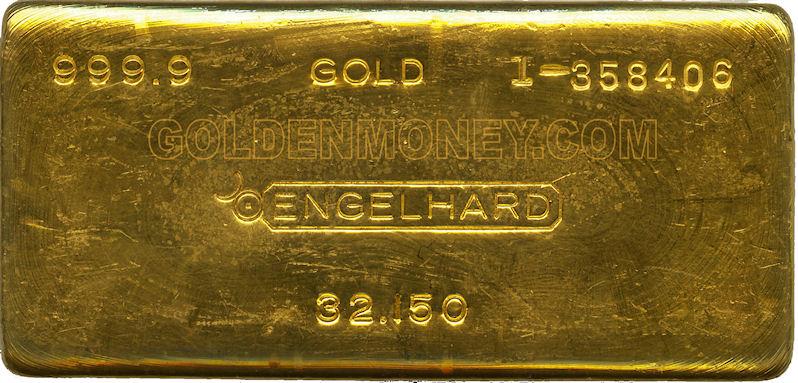 Engelhard Gold Price June 2020